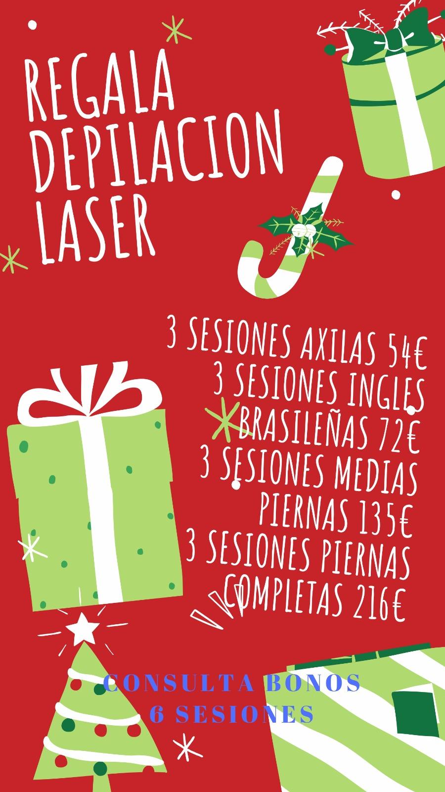 laser navidad