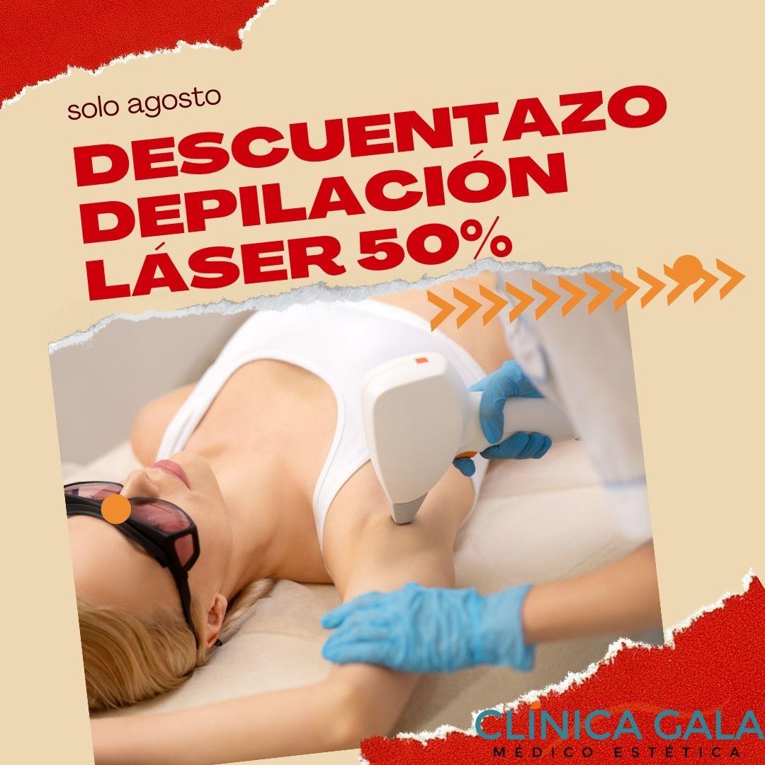 laser descuento agosto
